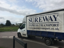 Sureway Express Transport - 3.5t curtainsided van