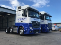 Sureway Express Transport - Mercedes Benz Actros