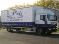 Sureway Express Transport - Curtainside