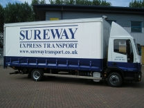 Sureway Express Transport - Curtain-side